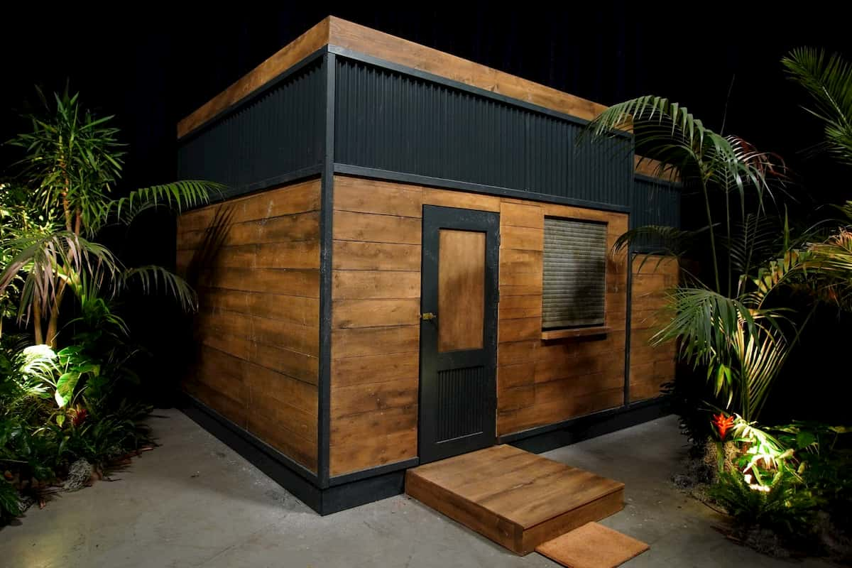 Tiny House in der Dschungel-Show 2021