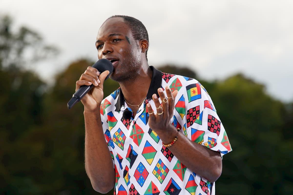 Wilfried Mboda Ngandeu bei DSDS am 12.1.2021 als Kandidat