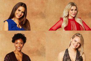 Bachelor am 10.2.2021 - ausgeschiedene Kandidatinnen Anna, Kim Virginia, Debora und Kim-Denise