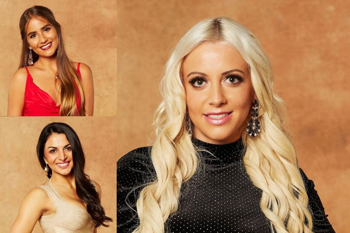 Bachelor am 3.2.2021 - ausgeschiedene Kandidatinnen Nina, Nora und Melissa