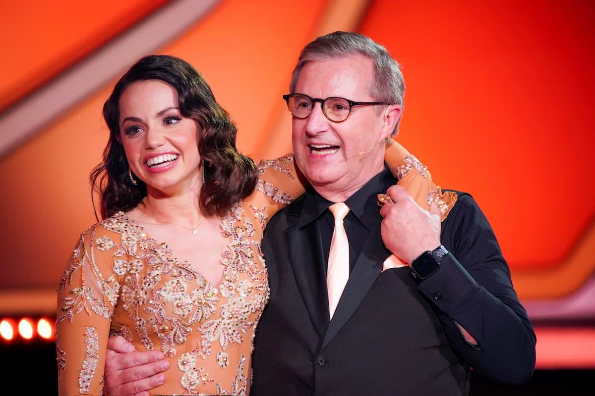 Christina Luft und Jan Hofer bei Let's dance am 26.2.2021