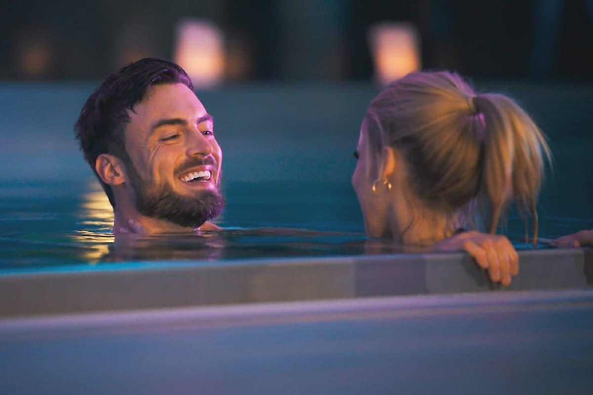 Denise und Niko lassen das Einzel-Date ausklingen beim Bachelor am 3.2.2021