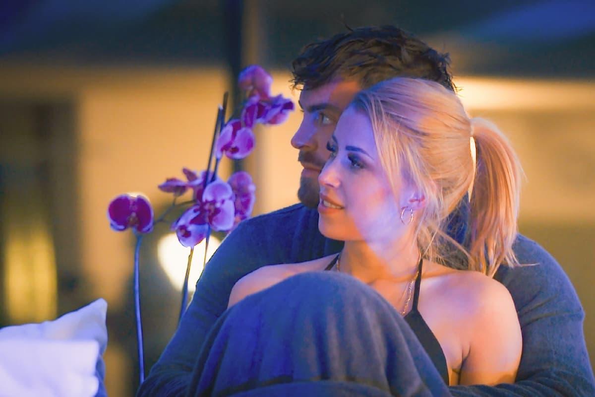 Denise und Niko mit romantischer Zweisamkeit beim Bachelor am 3.2.2021