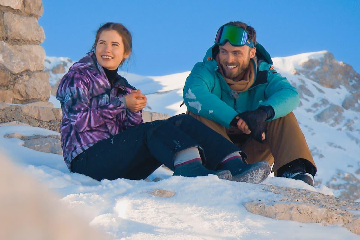 Esther und Niko beim Bachelor am 24.2.2021