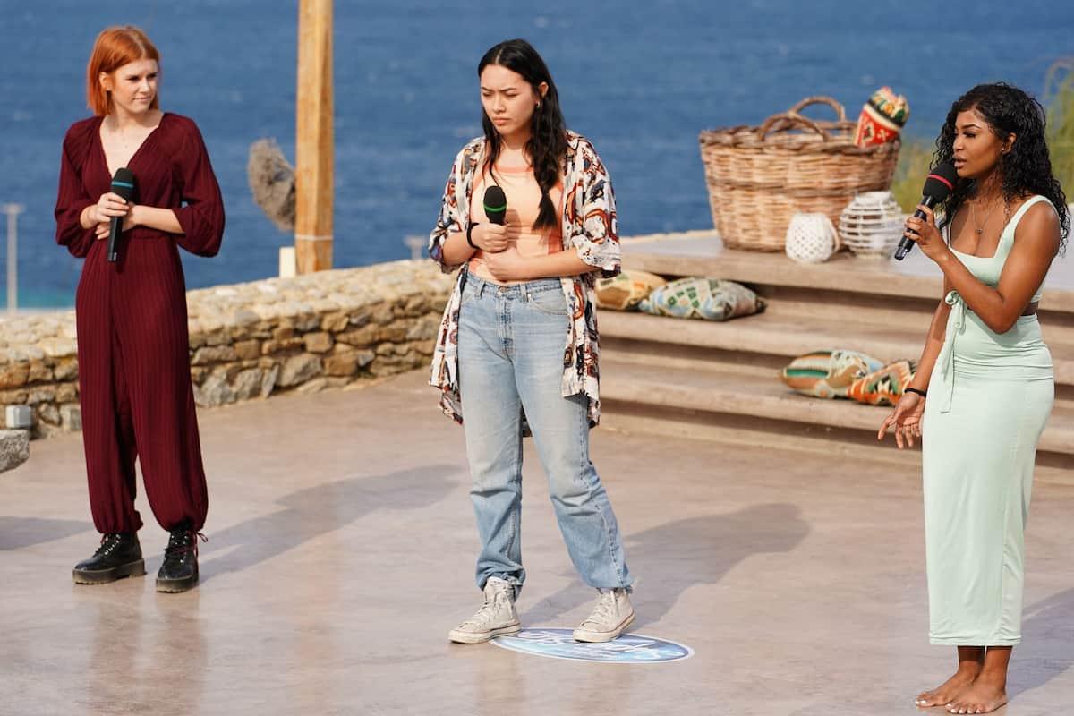 Gruppe 3 DSDS 27.2.2021 mit Michelle Patz, Anana Anna Soomin Klenz und Anita Omoregie