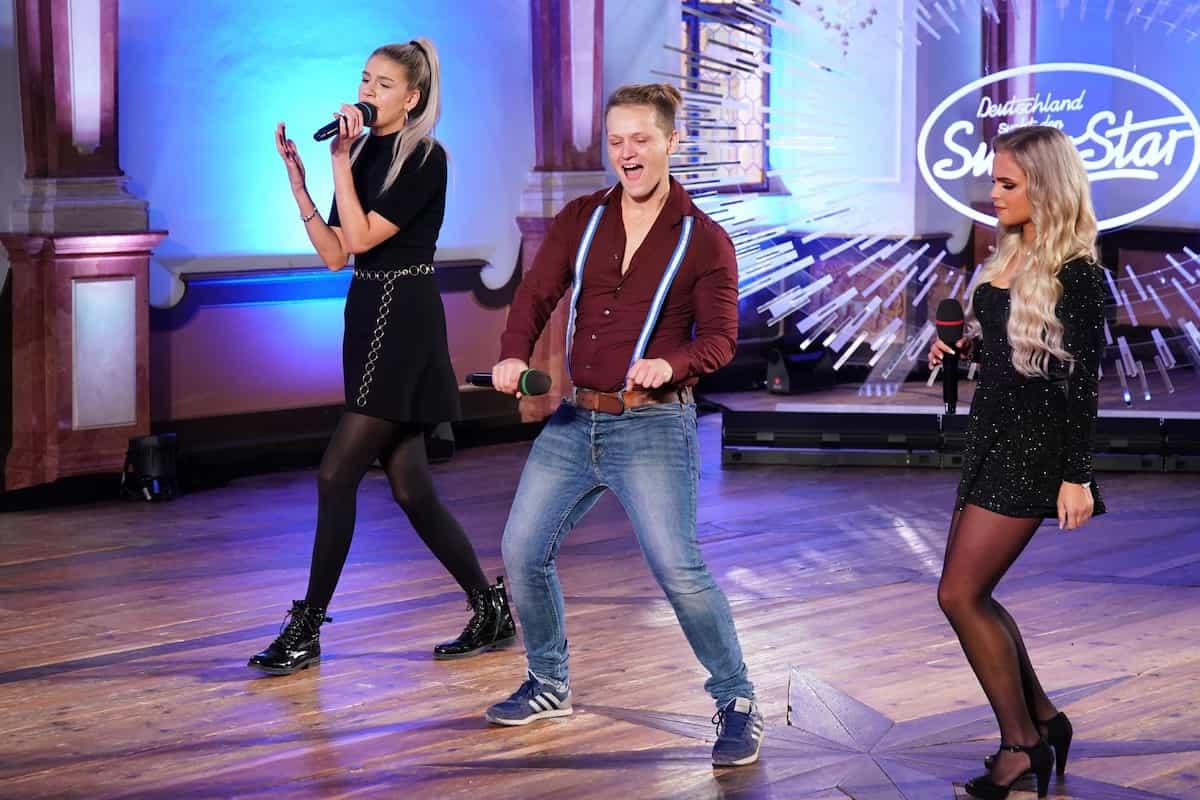 Gruppe 5 mit Pia-Sophie Remmel, Maik Dehnelt und Olivia Gotter