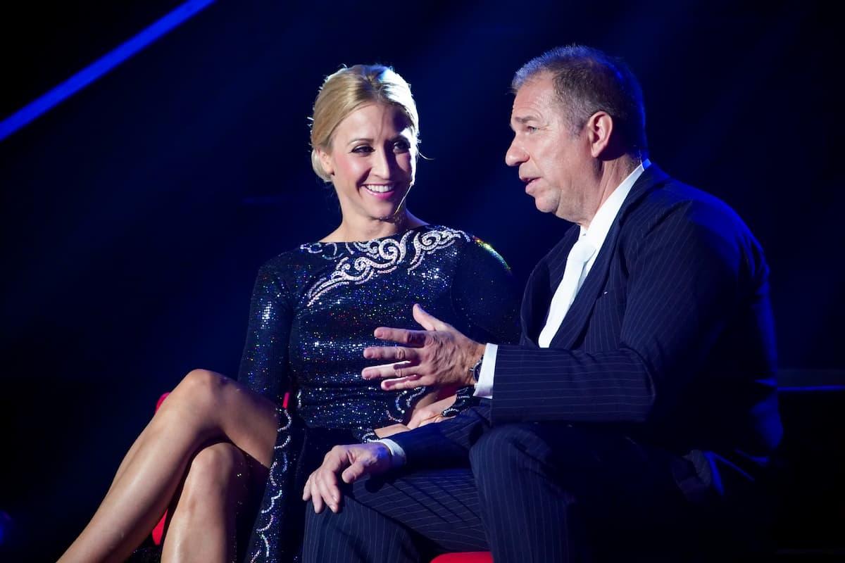 Kathrin Menzinger und Kai Ebel bei Let's dance am 26.2.2021