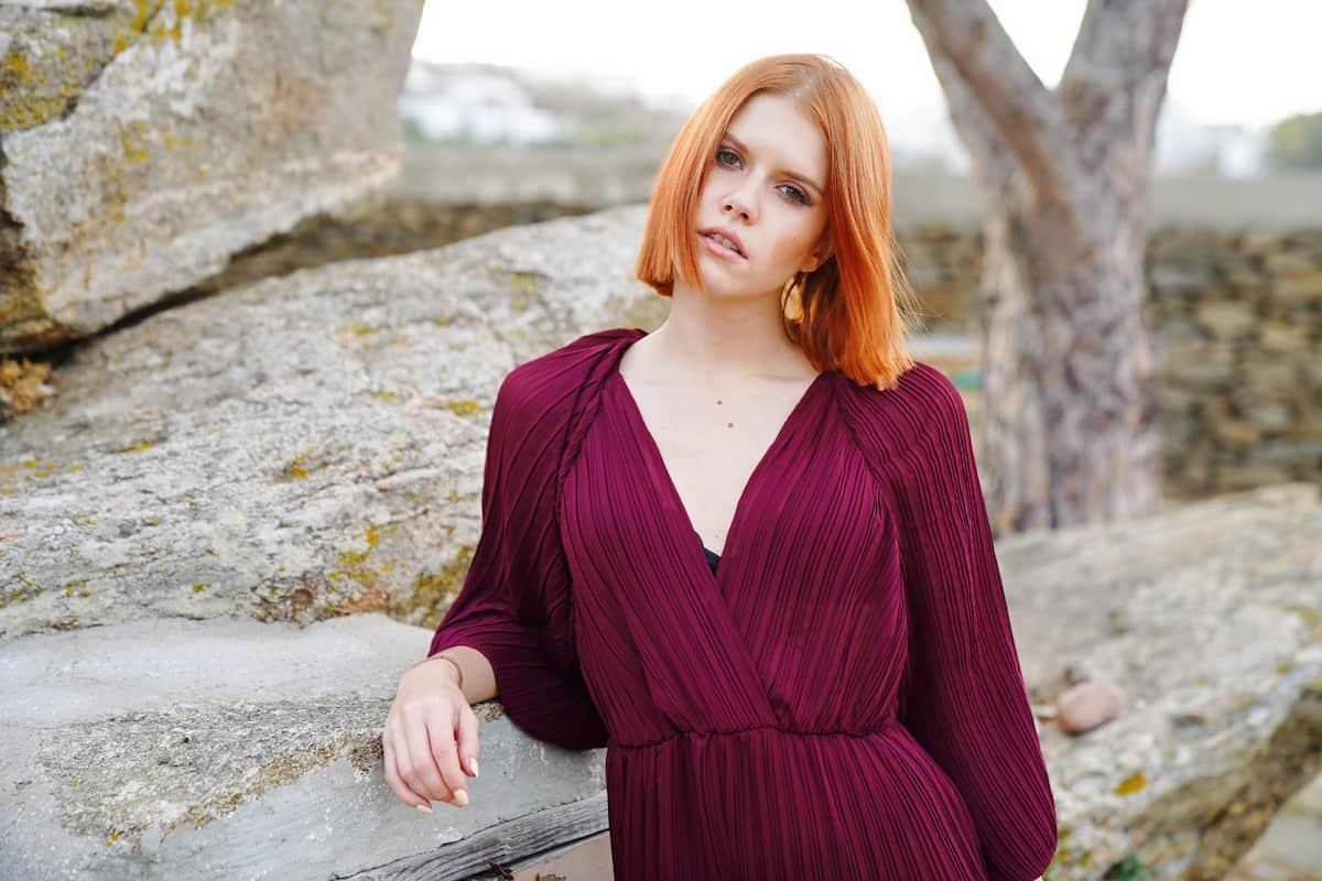 Michelle Patz mit neuer Frisur beim Auslands-Recall von DSDS 2021
