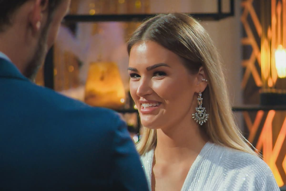 Niko und Jacqueline B beim Bachelor am 3.2.2021