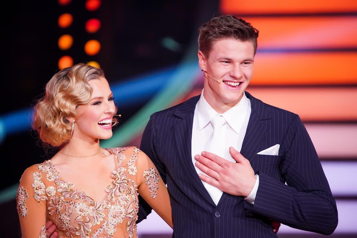 Patricija Belousova und Simon Zachenhuber bei Let's dance am 26.2.2021