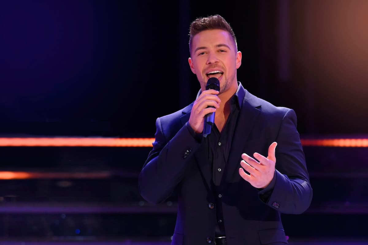 Ramon Roselly bei den Schlager-Champions 2021 am 27.2.2021