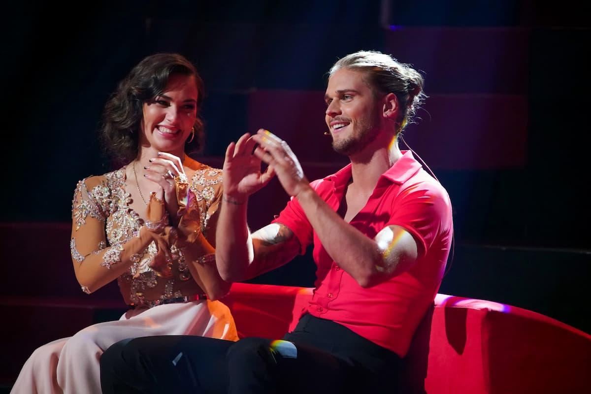Renata Lusin und Rurik Gislason bei Let's dance am 26.2.2021
