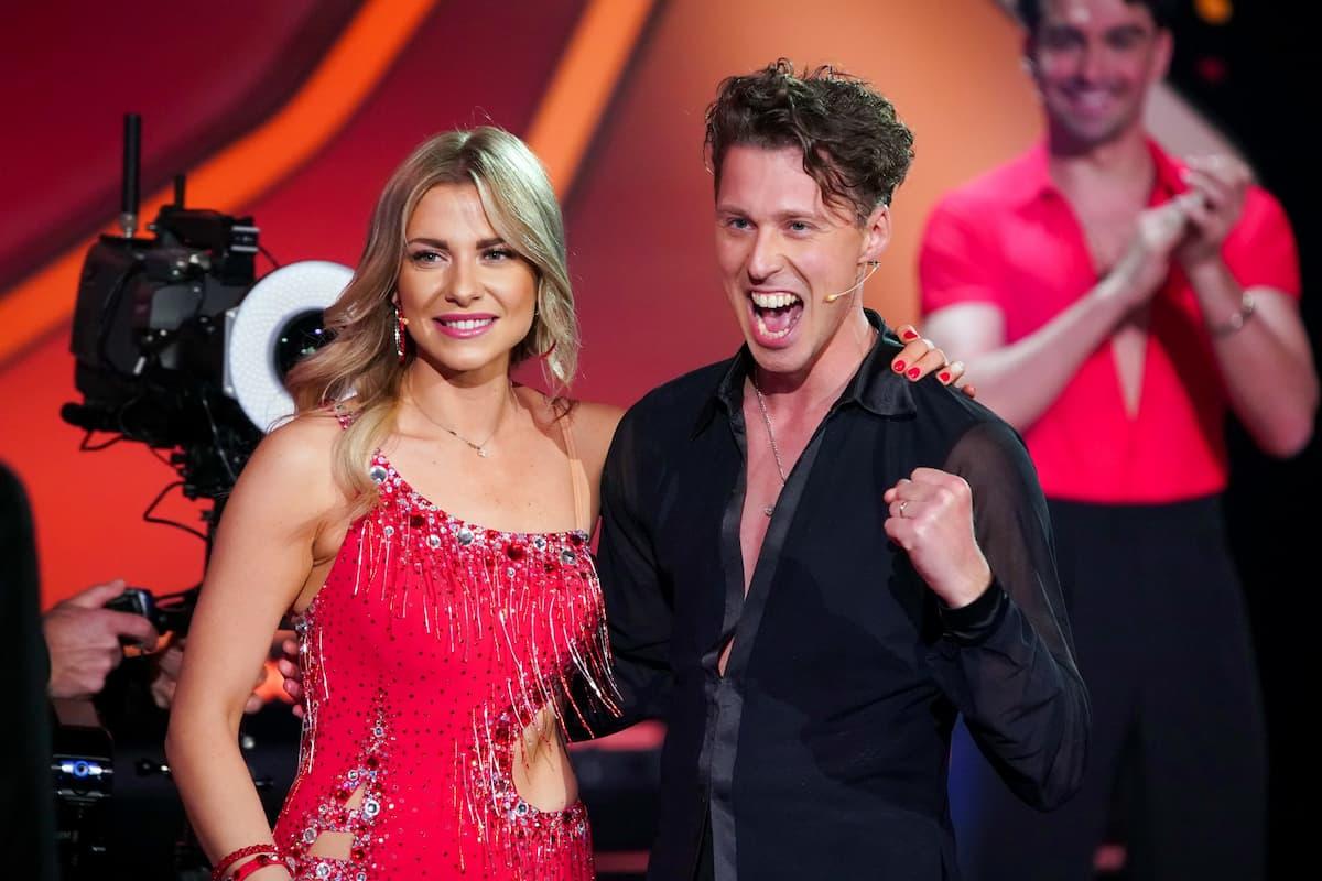 Valentina Pahde und Valentin Lusin bei Let's dance am 26.2.2021