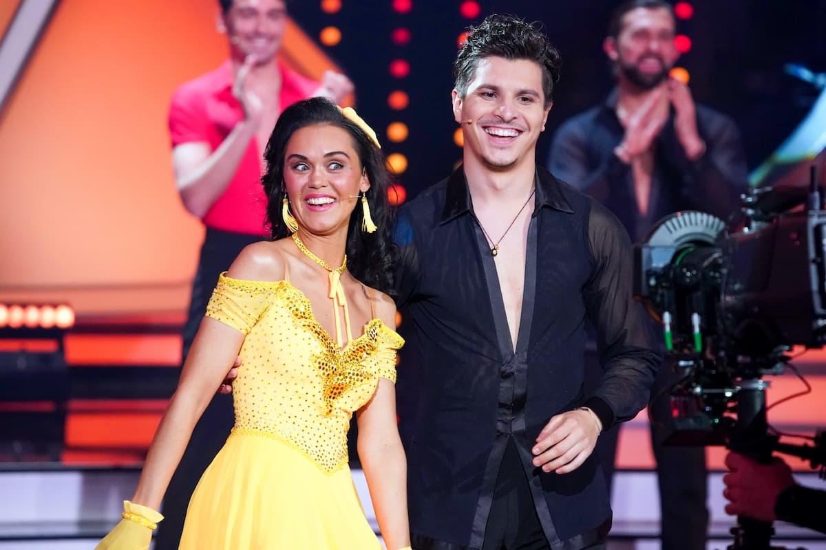 Vanessa Neigert und Alexandru Ionel bei Let's dance am 26.2.2021