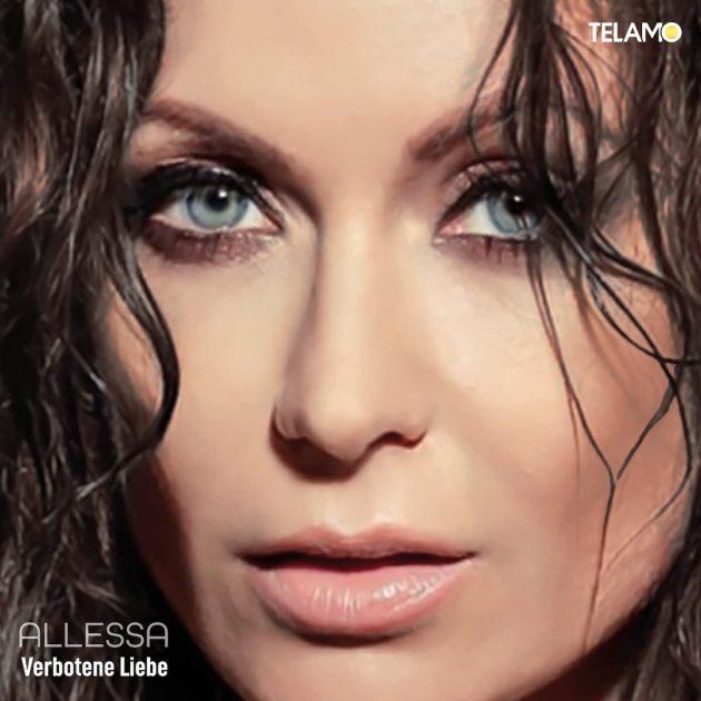 """Allessa kündigt neue Schlager-CD Sommerregen an - hier das Cover des Schlagers """"Verbotene Liebe"""""""