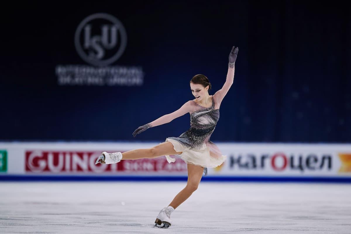Anna Shcherbakova ist neue Eiskunstlauf-Weltmeisterin 2021