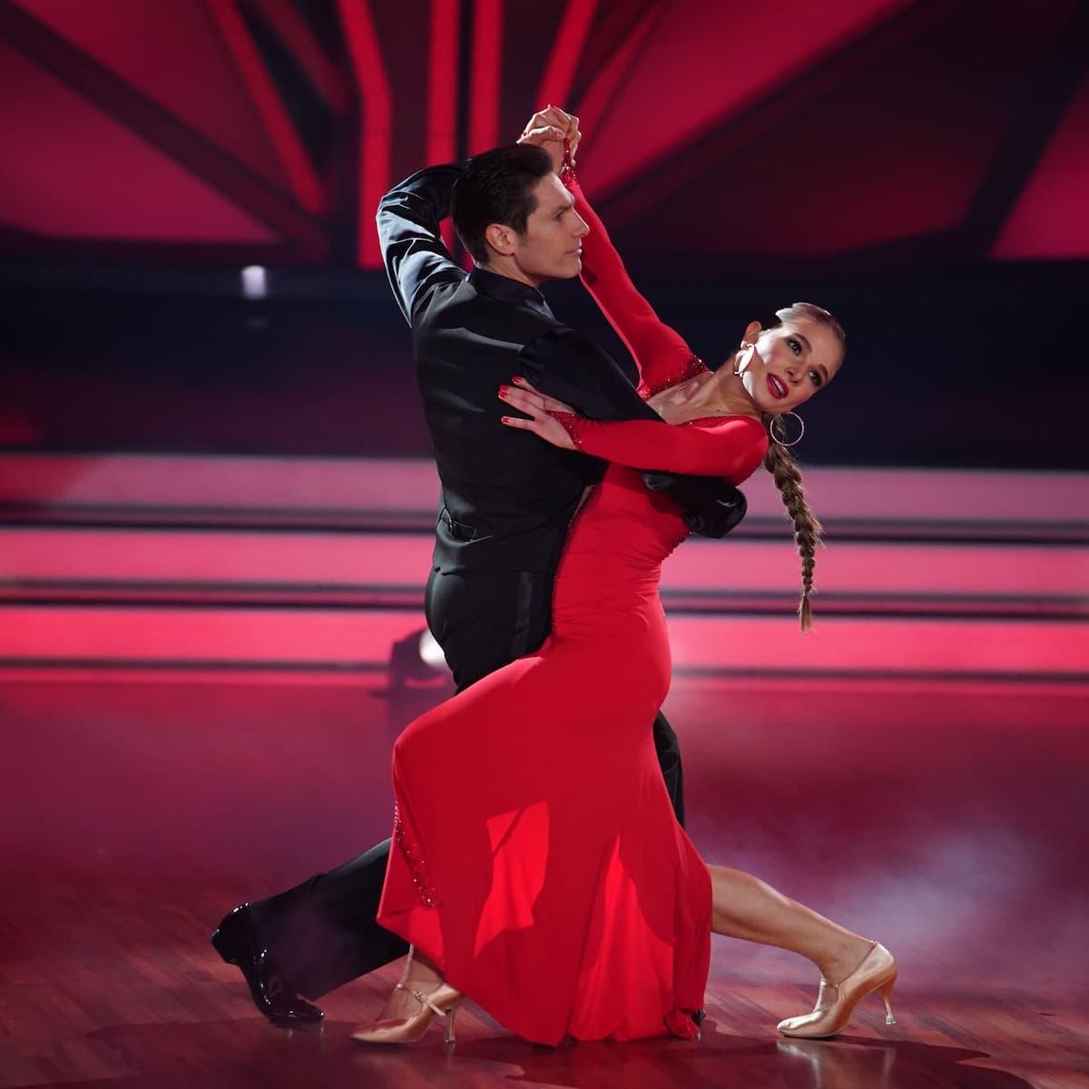 Christian Polanc und Lola Weippert bei Let's dance am 12.3.2021