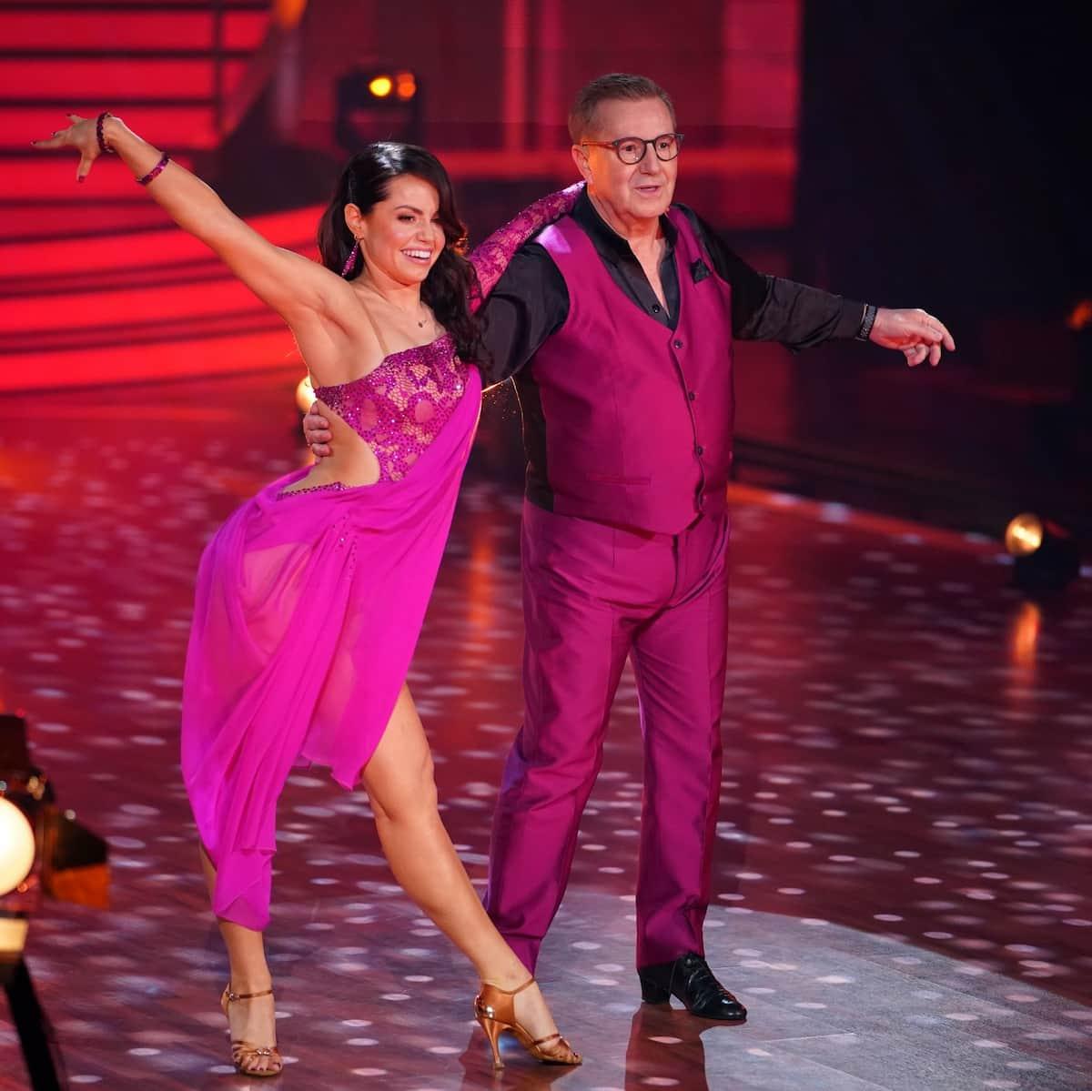 Christina Luft und Jan Hofer bei Let's dance am 12.3.2021