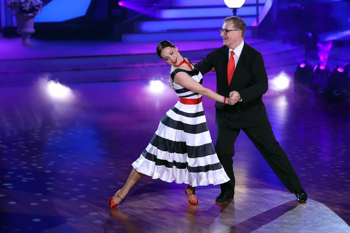 Christina Luft und Jan Hofer bei Let's dance am 19.3.2021