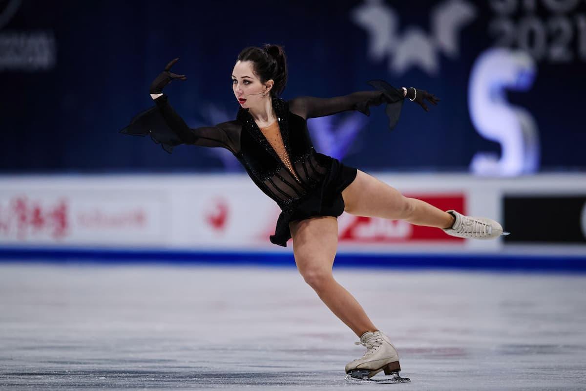 Elizaveta Tuktamysheva holt Silber-Medaille bei der Eiskunstlauf-WM 2021