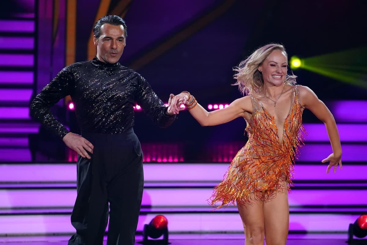Erol Sander und Marta Arndt bei Let's dance am 12.3.2021