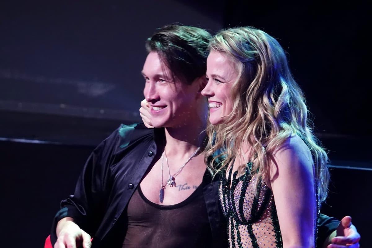 Evgeny Vinokurov - Ilse DeLange bei Let's dance am 12.3.2021