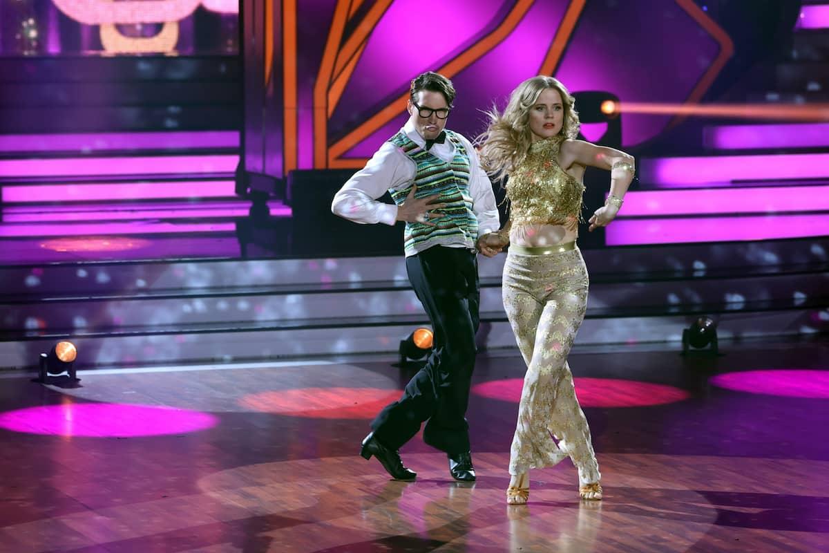 Ilse DeLange und Evgeny Vinokurov bei Let's dance am 19.3.2021