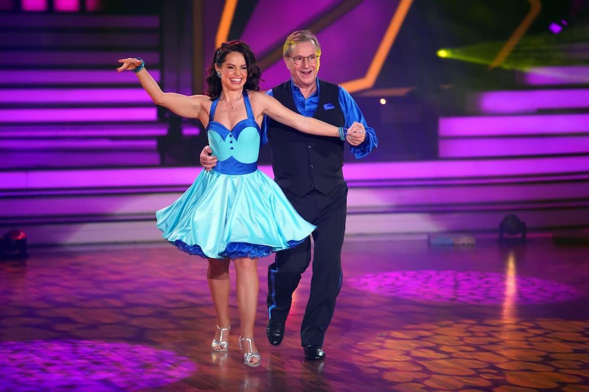 Jan Hofer und Christina Luft bei Let's dance am 5.3.2021