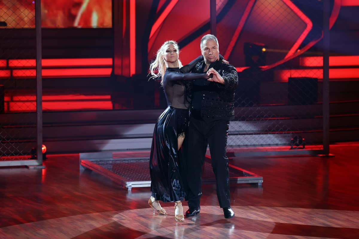 Kai Ebel und Kathrin Menzinger bei Lets dance am 19.3.2021