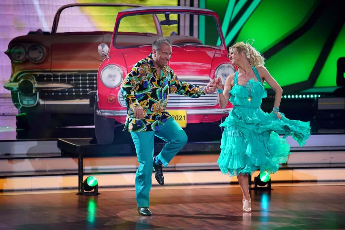 Kai Ebel und Kathrin Menzinger bei Let's dance am 5.3.2021 (1)