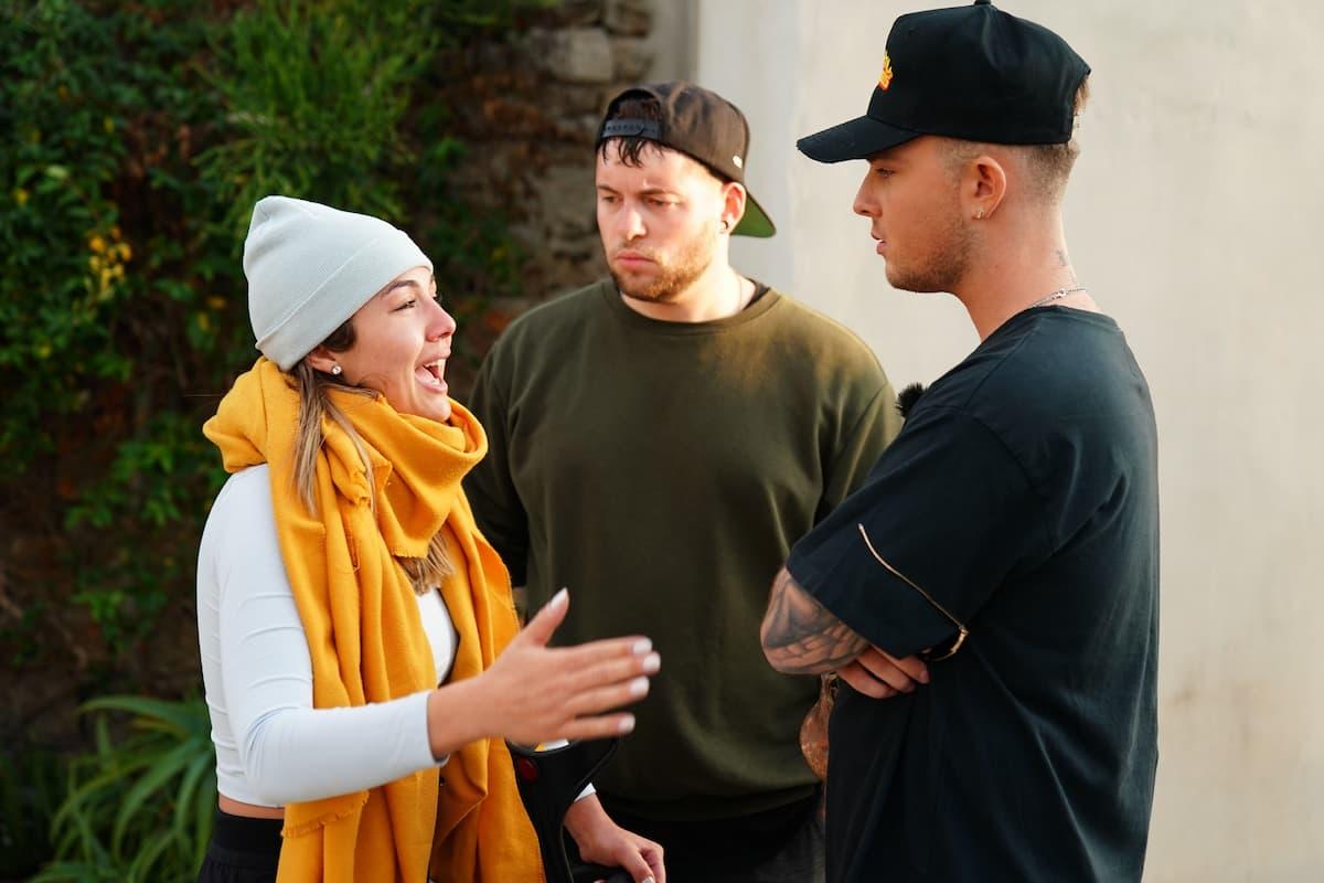Katharina Eisenblut (Demirkan), Marvin Frederic Ventura Estradas und Mike Singer bei DSDS 6.3.2021