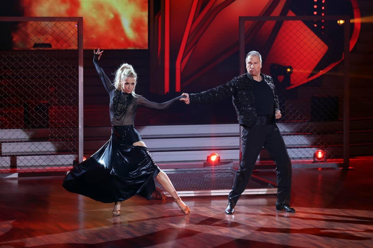 Kathrin Menzinger und Kai Ebel bei Let's dance am 19.3.2021