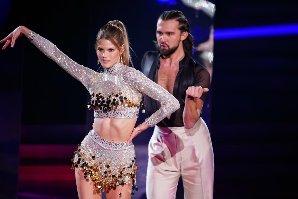 Kim Riekenberg und Pasha Zvychaynyy - Ausgeschieden bei Let's dance am 12.3.2021