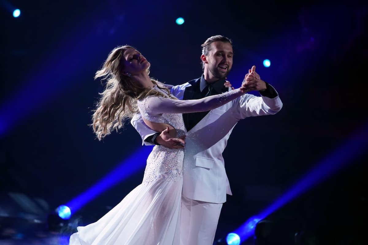 Kim Riekenberg und Pasha Zvychaynyy bei Let's dance am 5.3.2021