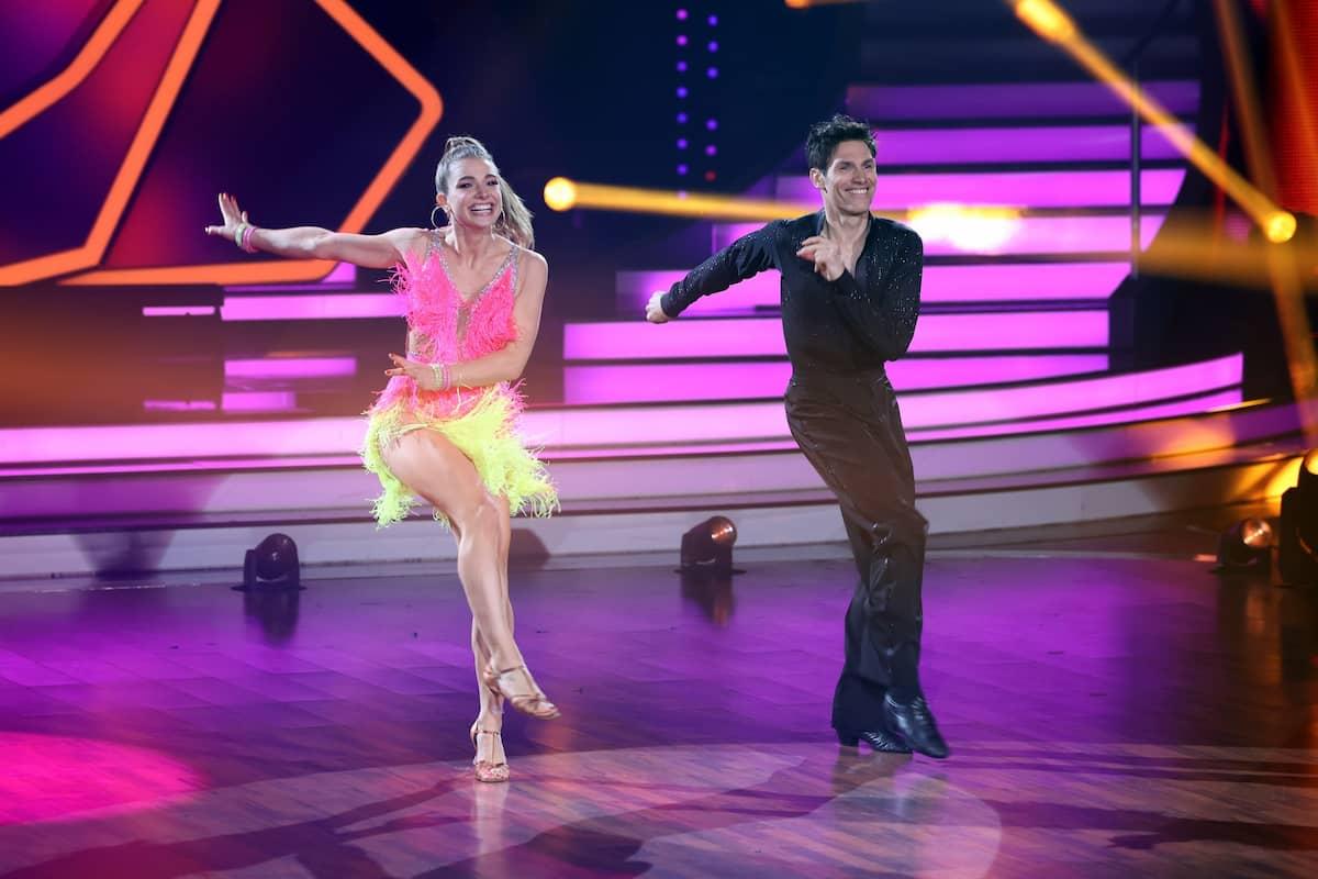 Lola Weippert und Christian Polanc bei Let's dance am 19.3.2021