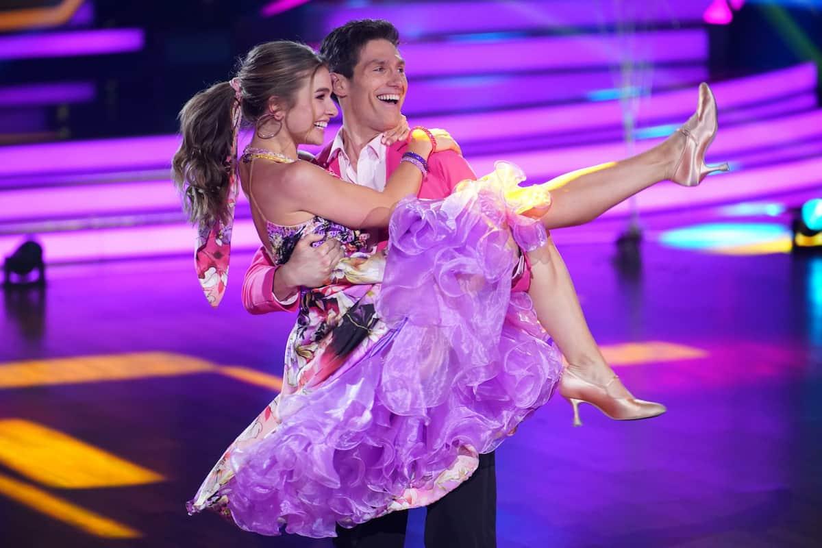 Lola Weippert und Christian Polanc bei Let's dance am 5.3.2021