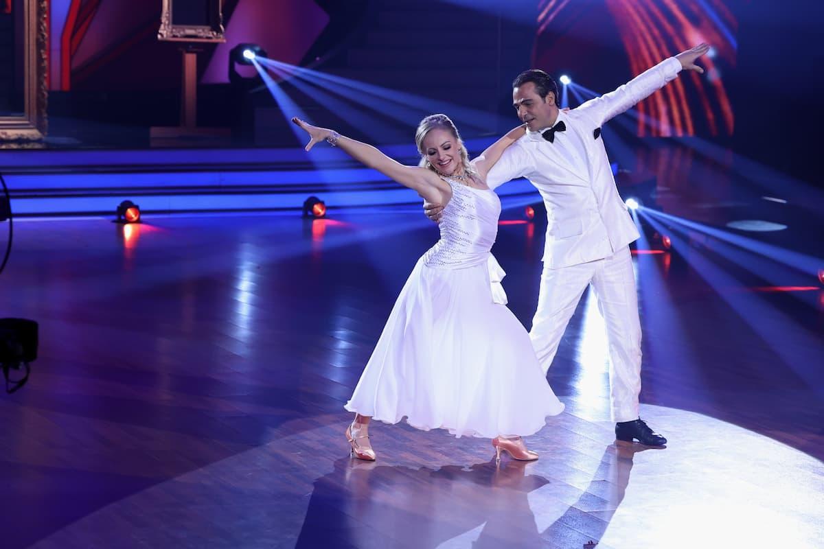 Marta Arndt und Erol Sander bei Let's dance am 19.3.2021