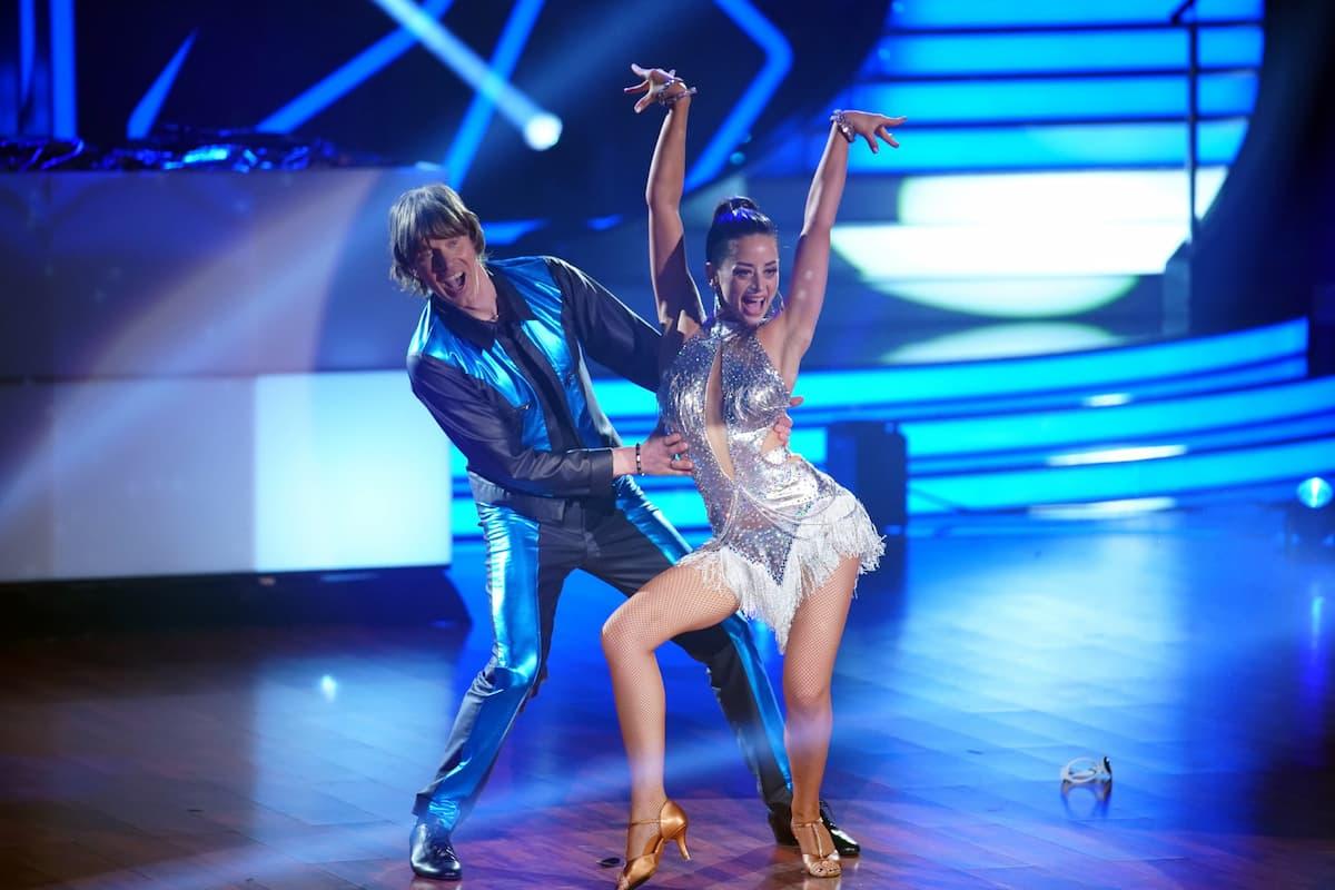 Mickie Krause und Malika Dzumaev bei Let's dance am 5.3.2021