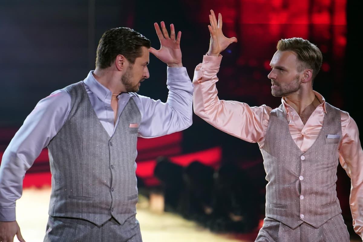 Nicolas Puschmann und Vadim Garbuzov bei Let's dance am 12.3.2021