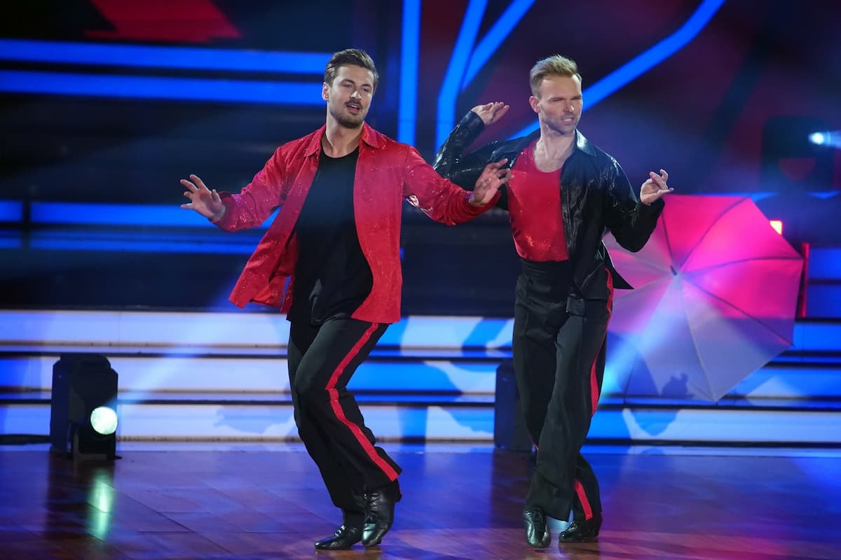 Nicolas Puschmann und Vadim Garbuzov bei Let's dance am 5.3.2021