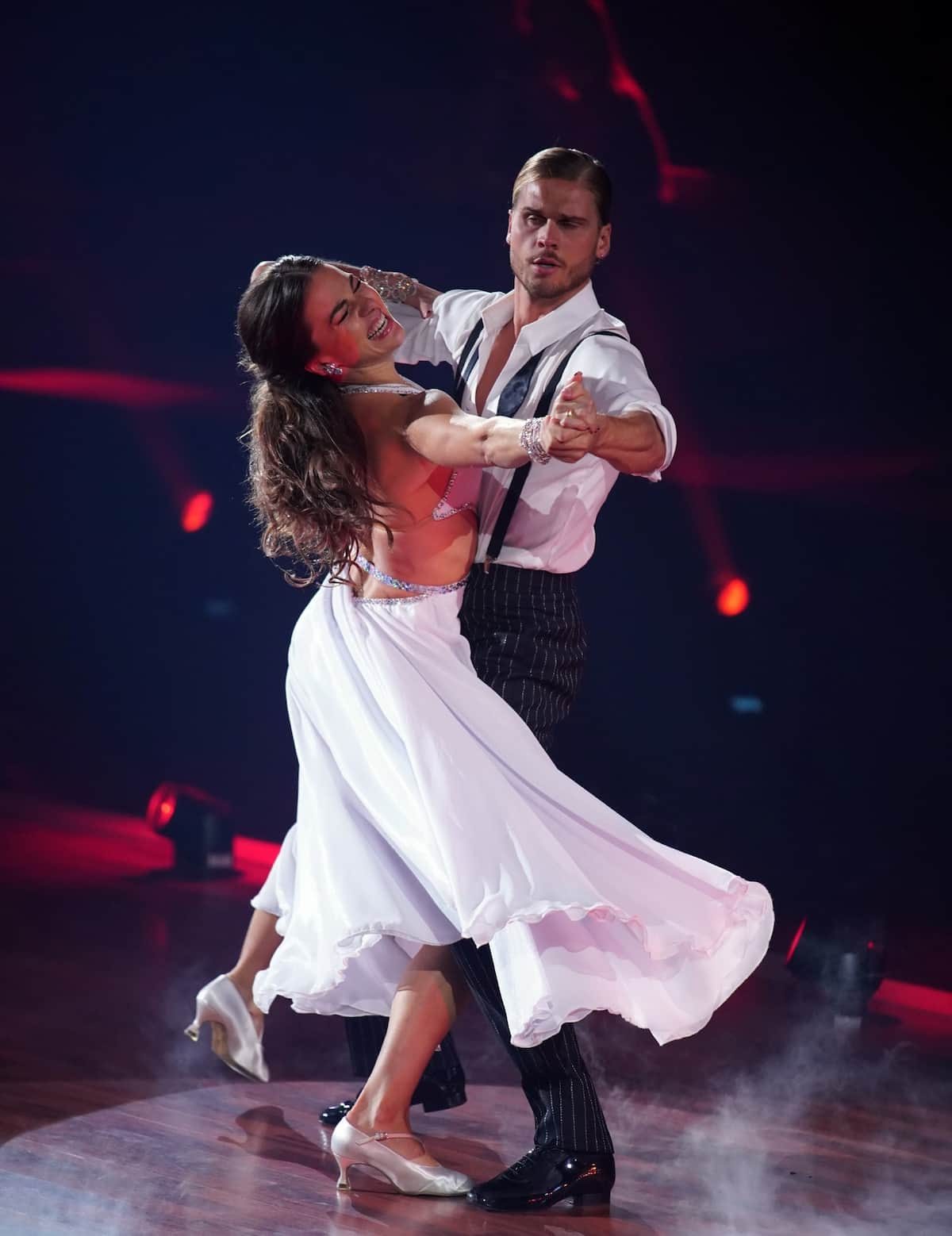 Renata Lusin und Rurik Gislason bei Let's dance am 12.3.2021