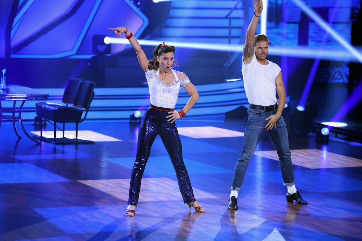 Rurik Gislason und Renata Lusin bei Let's dance am 19.3.2021