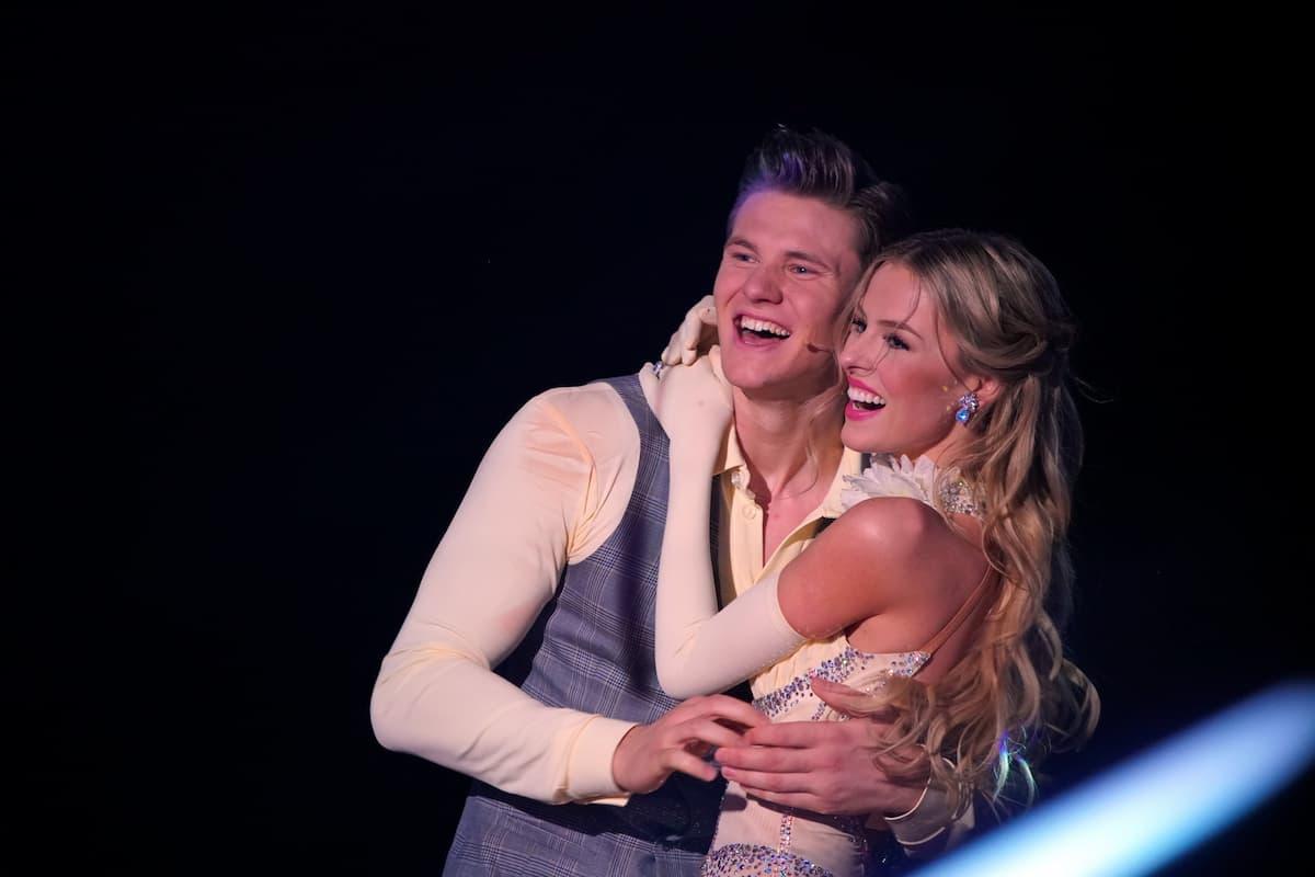 Simon Zachenhuber und Patricija Belousova Let's dance 5.3.2021