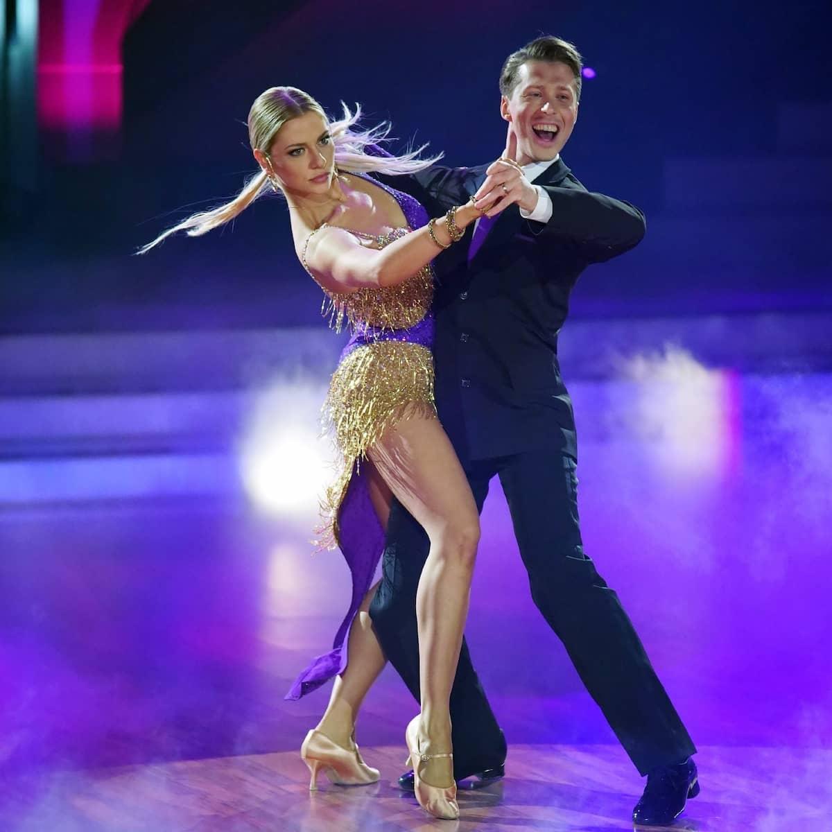 Tango von Valentina Pahde und Valentin Lusin - Let's dance am 5.3.2021