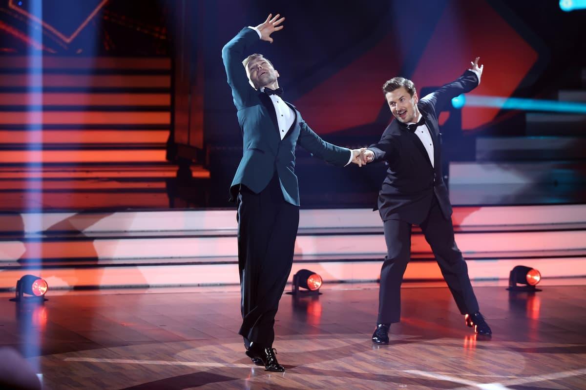 Vadim Garbuzov und Nicolas Puschmann bei Let's dance am 19.3.2021