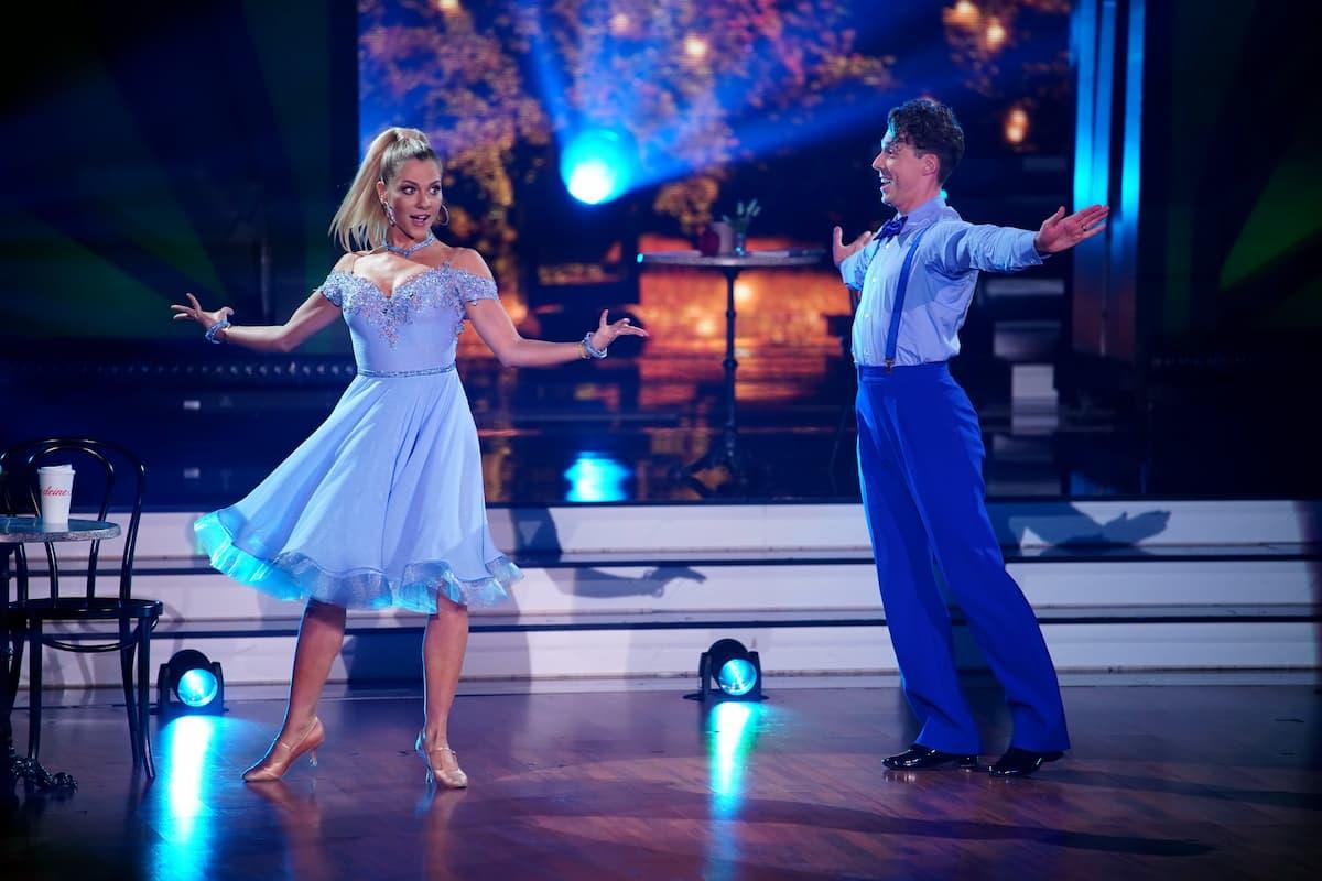 Valentina Pahde und Valentin Lusin bei Let's dance am 12.3.2021