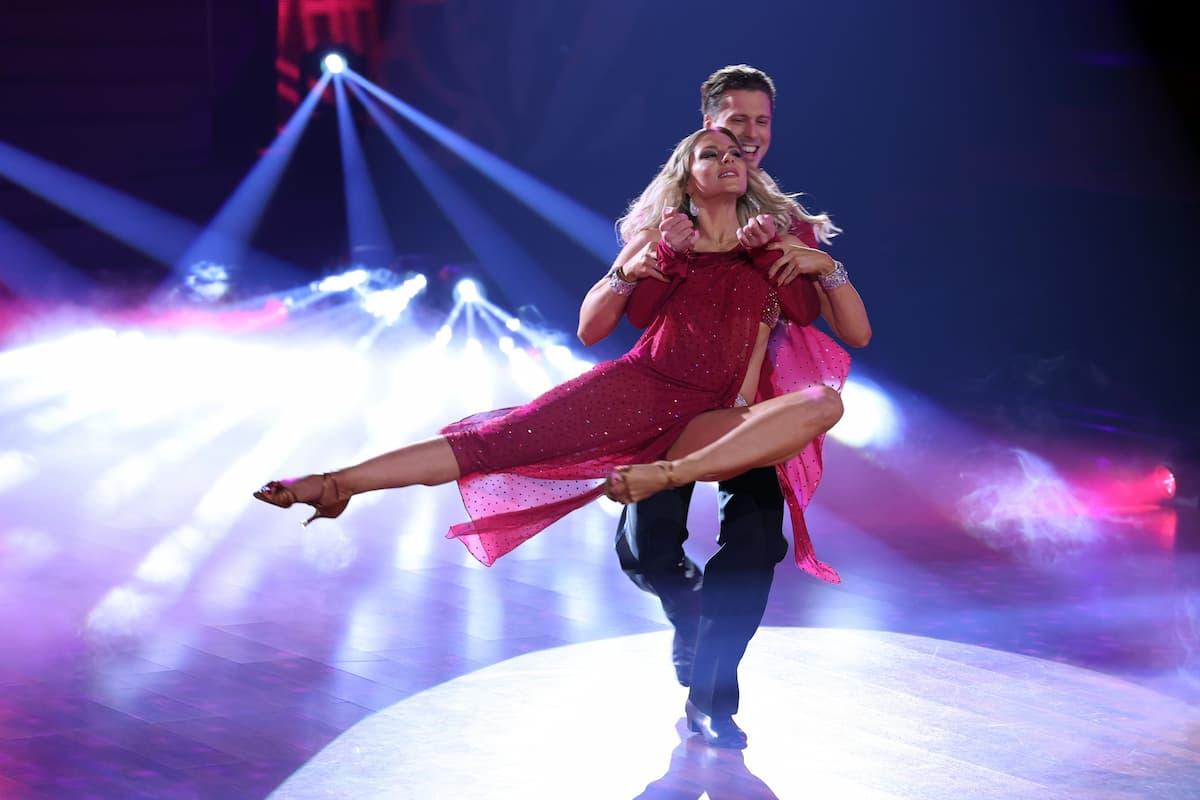 Valentina Pahde und Valentin Lusin bei Let's dance am 19.3.2021