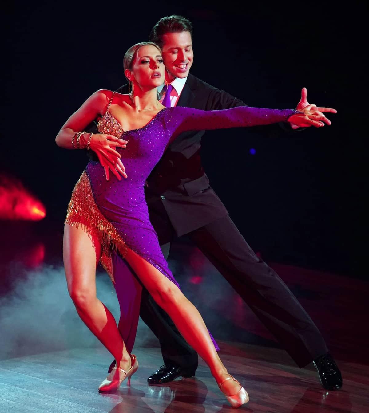 Valentina Pahde und Valentin Lusin bei Let's dance am 5.3.2021