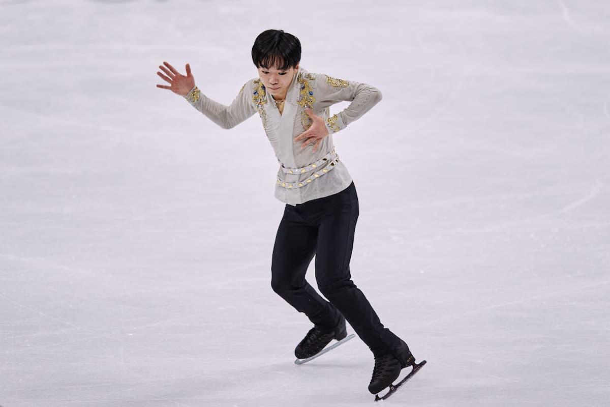 Yuma Kagiyama aus Japan - Kurzprogramm Eiskunstlauf-WM 2021