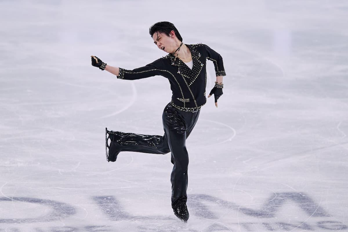 Yuzuru Hanyu Kurzprogramm Eiskunstlauf-WM 2021